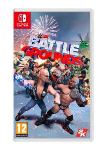 WWE 2K Battlegrounds on Nintendo Switch £9.99 at Simply Games