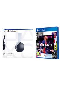 Playstation 5 Pulse 3D Wireless Headset + FIFA 21 (PS4) £84.85 Delivered @ Simply Games