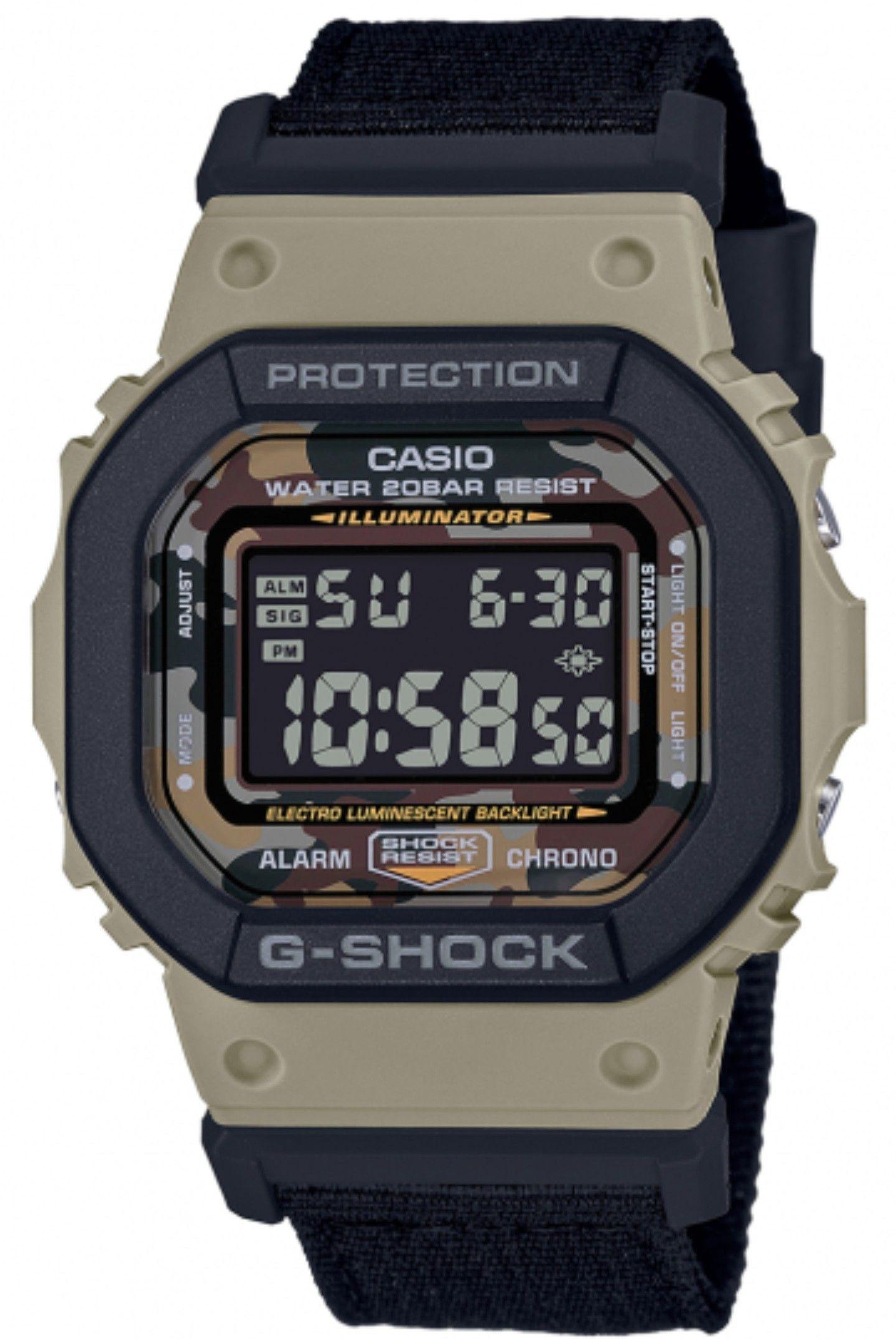 Casio G-SHOCK Square DW-5610SUS-5ER £64.50 @ Casio