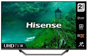 HISENSE 55AE7400FTUK Dolby Vision 55-inch 4K UHD HDR Smart TV with Freeview play, and Alexa Built-in (2020 series), Silver £377.15 @ Ao