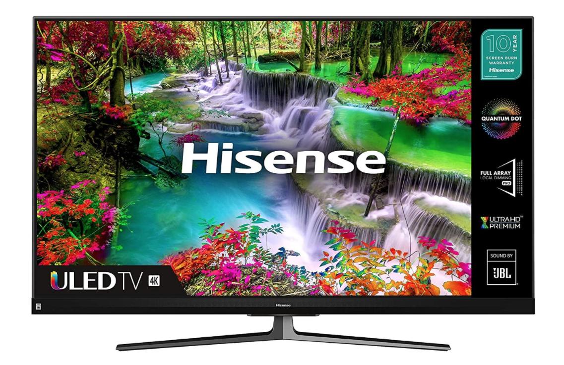 HISENSE 55U8QFTUK Quantum Series 1000-nit 55-inch 4K UHD HDR Smart TV - £616.55 delivered using code @ AO (UK Mainland)