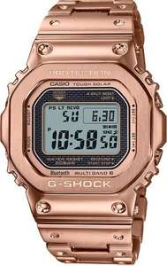 Casio G-Shock Watch Full Metal Rose Gold GMW-B5000GD-4ER £249 @ CW Sellors
