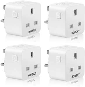 Smart Plugs Remote Controlled Plug x4 - £20.99 Sold by MySoja Official and Fulfilled by Amazon