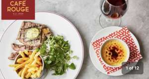 Two Course Meal for 2 at Cafe Rouge £24.95 @ Groupon