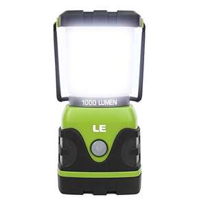 Camping Lantern, 1000 Lumen LED Outdoor Lights, 4 Modes Battery Powered £21.98 Sold by Lepro UK and Fulfilled by Amazon