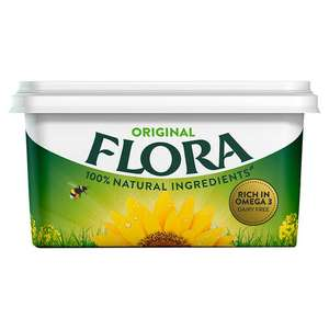 Flora Original Dairy Free Spread 1Kg / Light and Buttery 1kg £2 @ Iceland