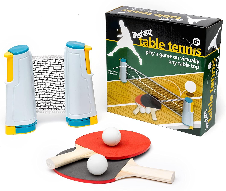 Funtime PL7690 Instant Table Tennis, Multi, Pack of 1 £5.92 Prime (+£4.49 Non-Prime) @ Amazon