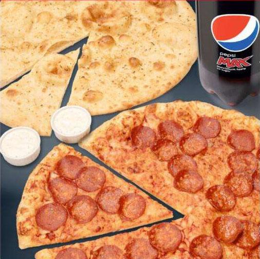 """Costco Meal Deal 18"""" Pizza, 18"""" Garlic Bread + 2L Pepsi Max - £9.99 (Membership Required) at Costco"""