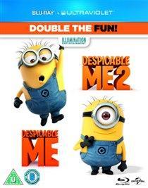 Despicable Me/Despicable Me 2 Blu-ray - £2.95 delivered @ Rarewaves