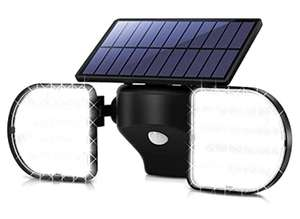 OUSFOT Solar Lights Outdoor 56 LED Solar Flood Lights £12.49 Prime (+£4.49 non Prime) Sold by ousfot and Fulfilled by Amazon