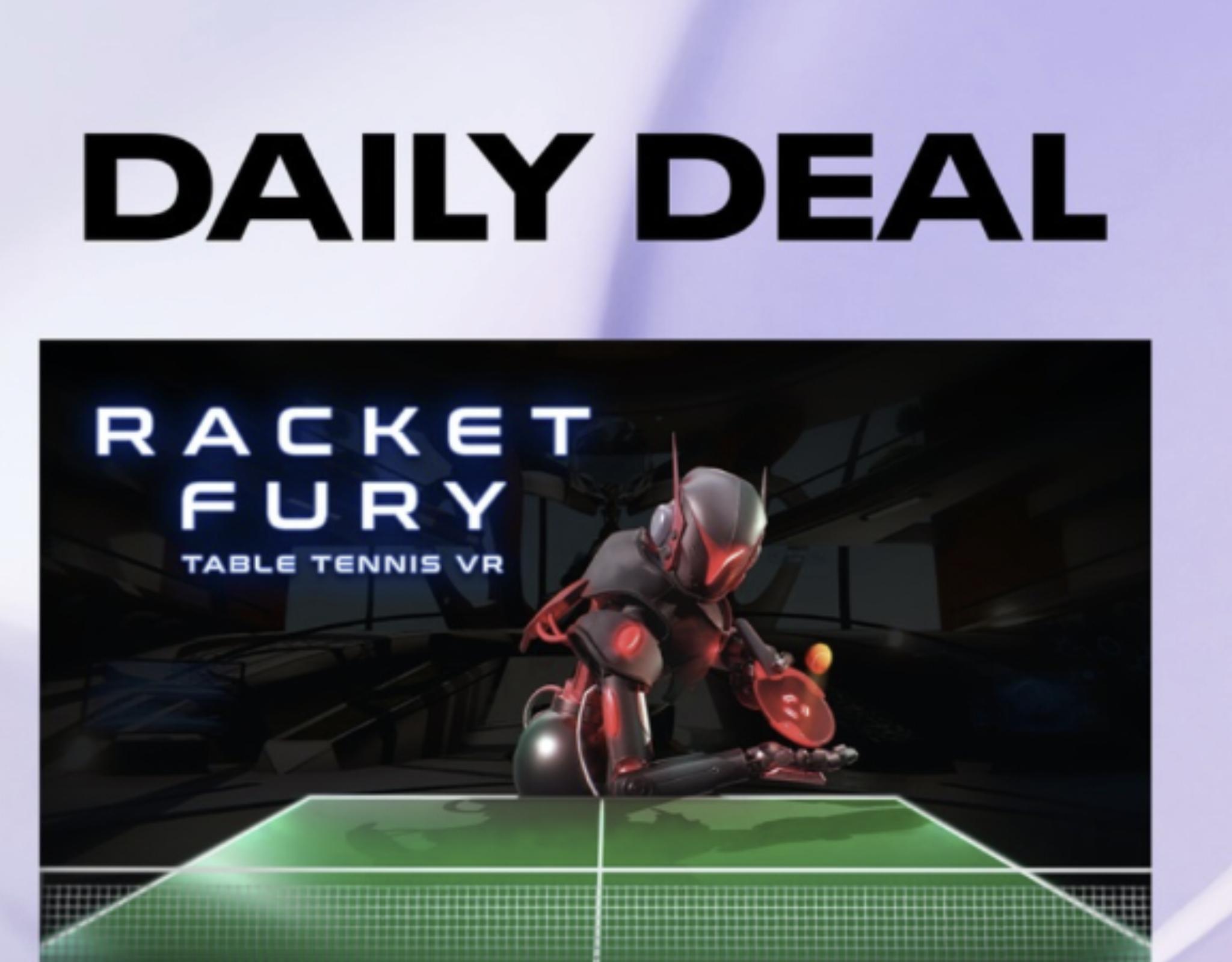 Oculus VR Daily Deal - Racket Fury Table Tennis VR £10.49 @ Oculus