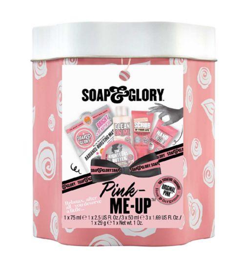 25% Off Soap & Glory Glorious Set, Scentsationalism Set, Original Pink Mini tin, Set Up travel bag from £7.50 (£1.50 Click collect) @ Boots