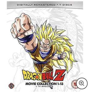 Dragon Ball Z Movie Complete Collection: Movies 1-13 + TV Specials Blu-Ray £37.68 delivered using code @ Zavvi