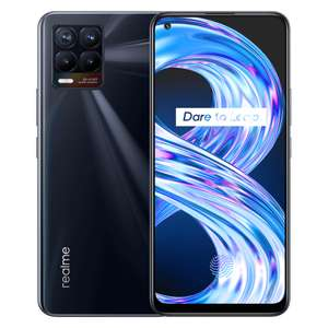Realme 8 4G Smartphone (5000mAh / 30W Dart Charge / Helio G95) - £151 For 64GB & £170 For 128GB Via Student Beans @ Realme