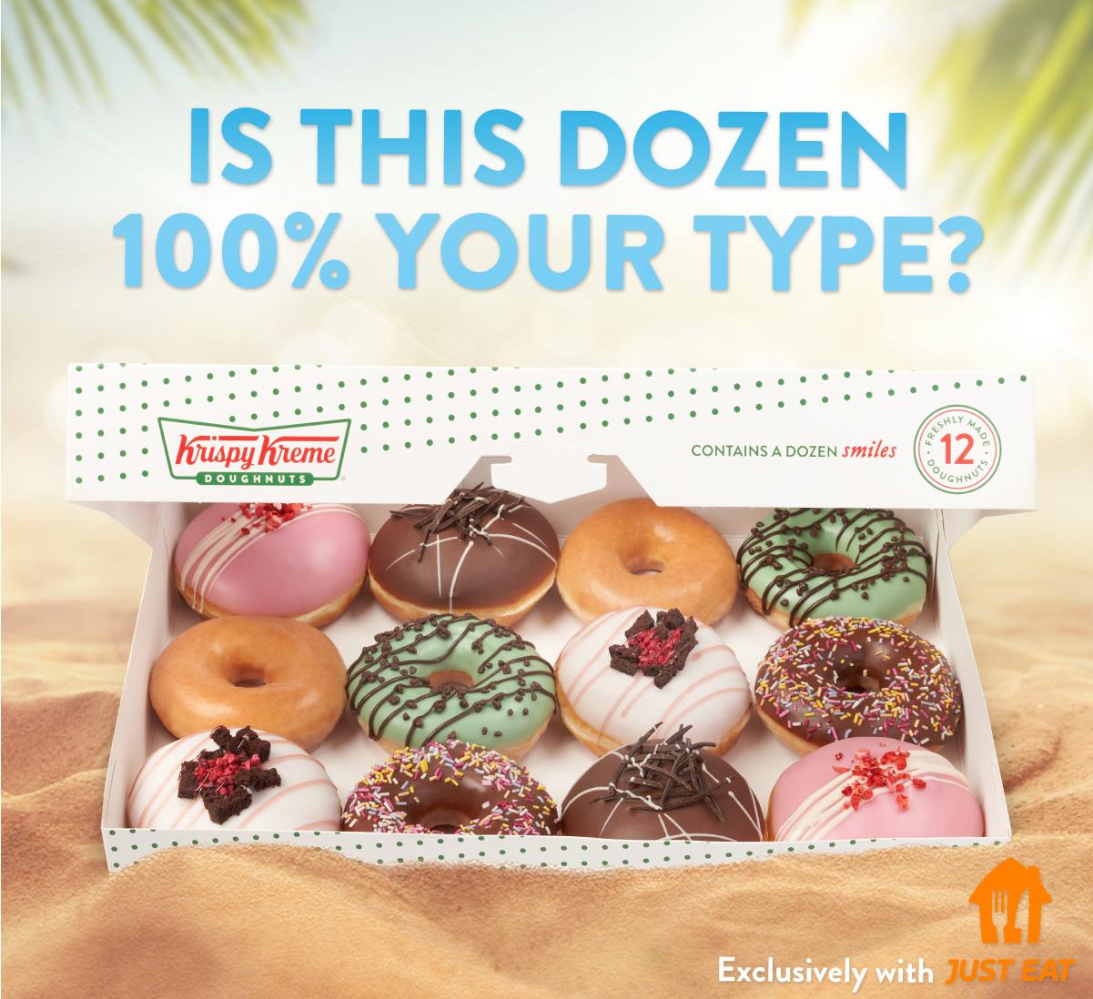 £1 off 3 pack Krispy Kreme Doughnut (Scan at checkout) from Tesco