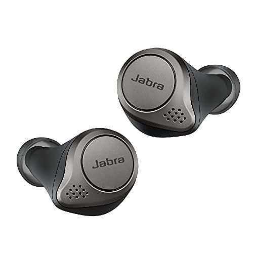 Jabra Elite 75t Earbuds – Active Noise Cancelling Bluetooth Headphones True Wireless Calls and Music – Titanium Black £119.99 @ Amazon