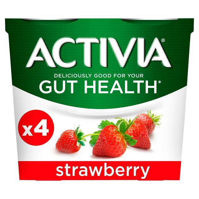 Activia Yogurt 4x115g ( All Flavours) £1 @ Sainsburys