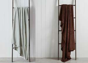 Soft Fleece 170cm Throw - Sage or Brown for £3 (free click & collect) @ Dunelm