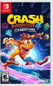 Crash Bandicoot 4 It's About Time Nintendo Switch - £29.99 delivered @ Monster Shop