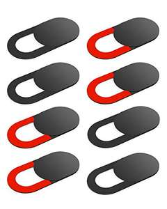 KIWI design Webcam Cover Slide 8 Pack £1.58 + £4.49 Non Prime Sold by KIWI design Direct UK and Fulfilled by Amazon.
