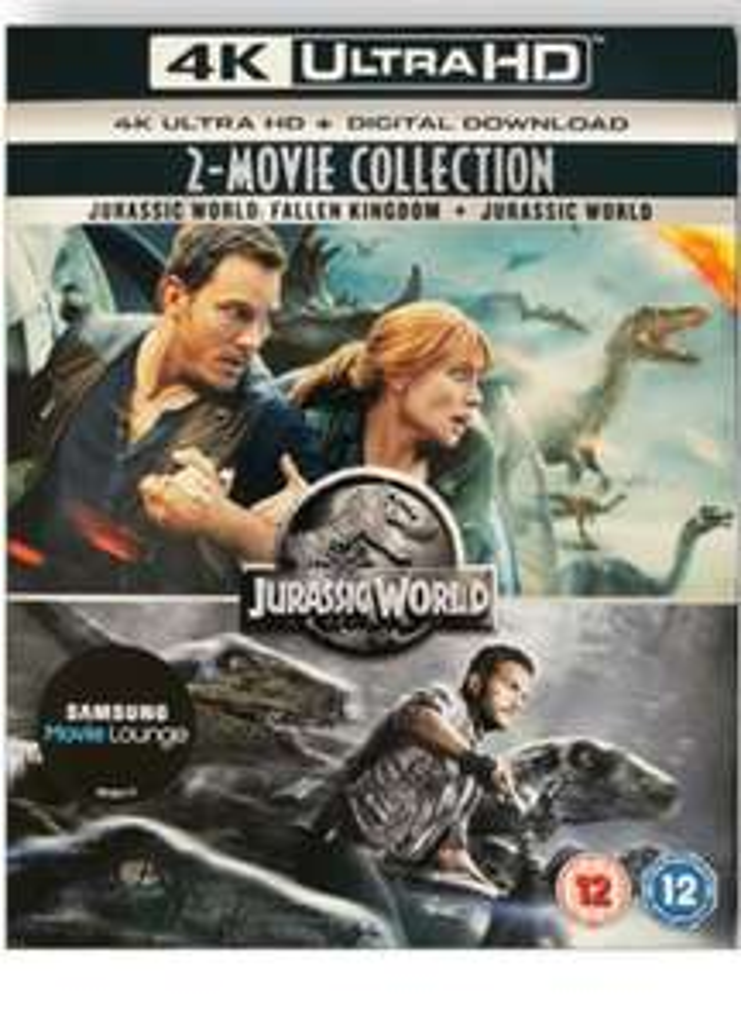 Jurassic World/Jurassic World Fallen Kingdom Collection 4k UHD £8.95 delivered @ PRC Direct