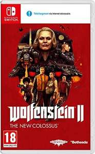 WOLFENSTEIN 2 NEW COLOSSUS Nintendo Switch £16.50 (+£2.99 nonPrime) Amazon
