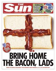 £5 Bet to use in shop on tonight's Euro's game @ Paddy Power. Courtesy of The Sun.
