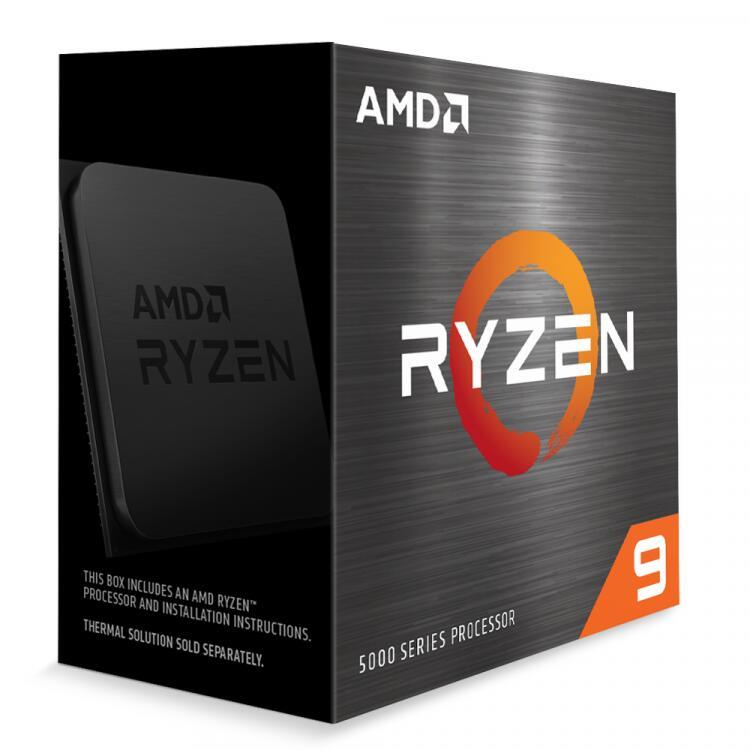 AMD RYZEN 9 5900X TWELVE CORE 4.8GHZ (SOCKET AM4) PROCESSOR - RETAIL - £488.69 Delivered @ Overclockers
