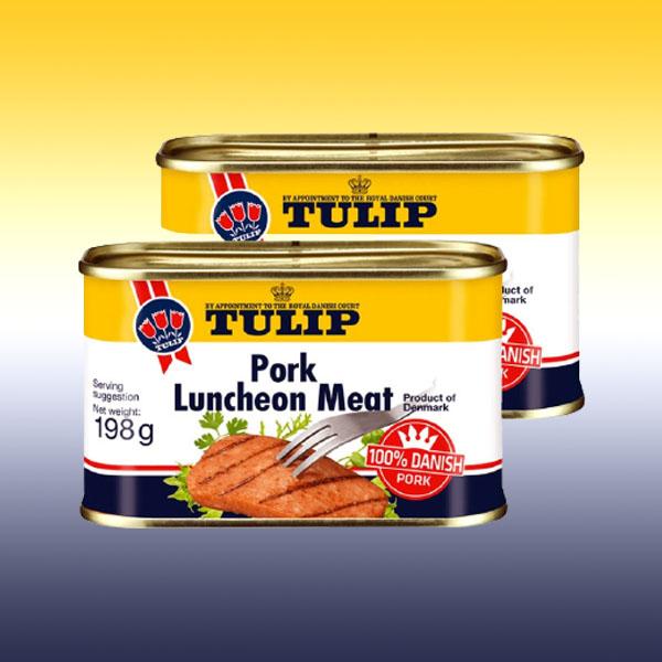 48 x Tulip Danish Pork Luncheon Meat 198g Tins for £25 (52p each) delivered @ yankeebundles