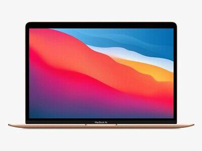 "M1 Apple MacBook Air 13"" 8GB RAM 256GB SSD macOS Big Sur Gold Refurbished Laptop (UK Mainland) £699.99 @ eBay/electrical-deals"