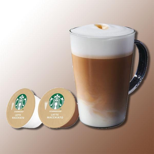 36 x starbucks latte macchiato coffee dolce gusto drinks (72 pods) £10 @ Yankee Bundles - Best Before End August 2021