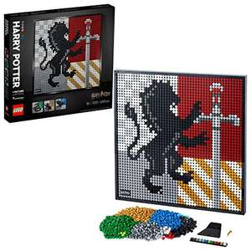 LEGO Art 31201 Harry Potter Hogwarts Crests Poster £68.58 delivered at Amazon