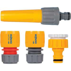 4 Piece Hozelock Hose Fitting Starter Set £4.98 + Free click & collect (Very Limited Availability) at Toolstation