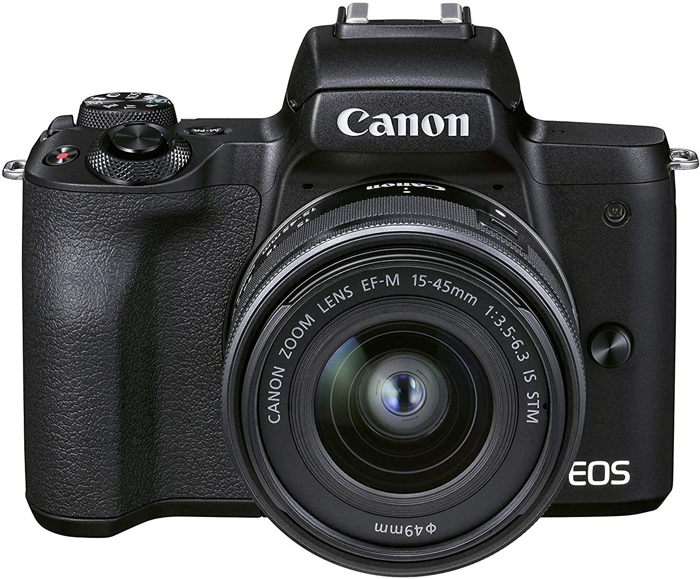 Canon EOS M50 Mark II + EF-M 15-45 mm f/3.5-6.3 IS STM (Black) - Mirrorless - £635.05 @ Amazon