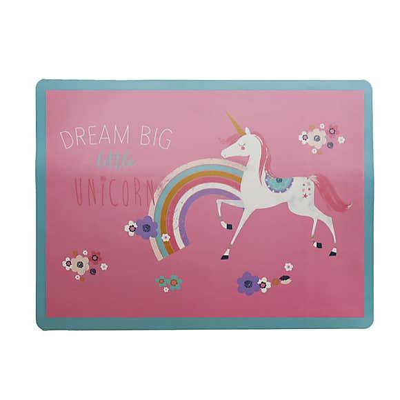 Dunelm Little Unicorn Fleximat placemat (bamboo fibre) for kids for 62p click & collect @ Dunelm