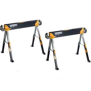 Toughbuilt C700 Adjustable Saw Horses - 1300lb Weight Capacity Each Pair for £99.99 delivered @ Powertoolmate