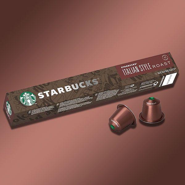 120x Starbucks Italian Style Roast Coffee Nespresso Pods - £16 delivered @ Yankee Bundles