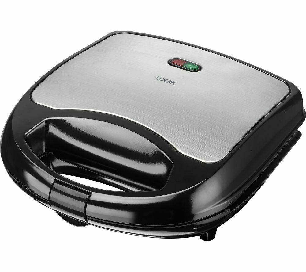 LOGIK L02SMS17 Sandwich Toaster - Black & Silver £7.99 @ Currys PC World / eBay