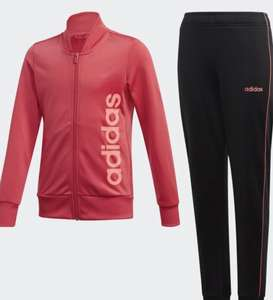 TRACKSUIT Power Pink / Signal Pink (Girls 7-14)- £16.48 (+£3.99 Delivery) @ Adidas Shop