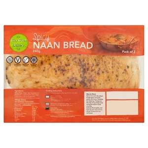 The Clay Oven Bakery Spicy Naan Bread - £1 @ Morrisons
