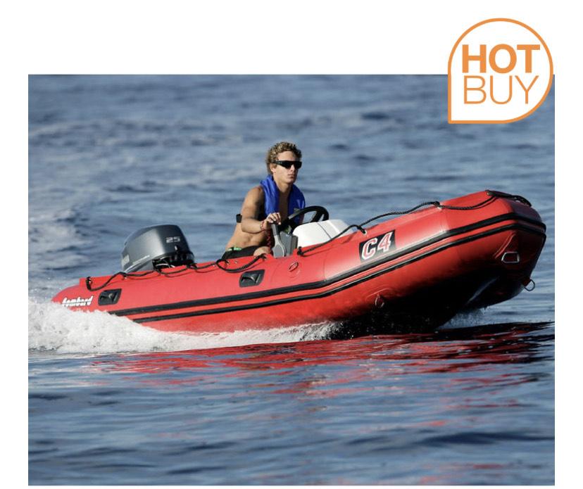 Bombard C4 Commando 7 Person Boat - £2599.89 delivered (Membership Required) at Costco
