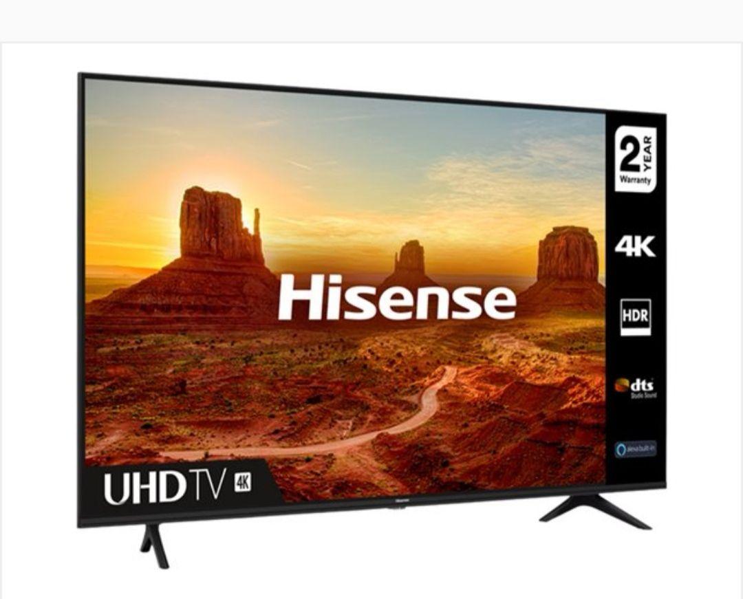 Hisense 65 inch 4K HDR TV model A7100F - £433.99 delivered @ Comet