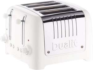 Dualit 46203 Lite 4 Slice Toaster - White - £64.99 ( with free click and collect ) @ Argos