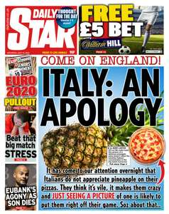 £5 Bet at William Hill shops with the Daily Star - 90p