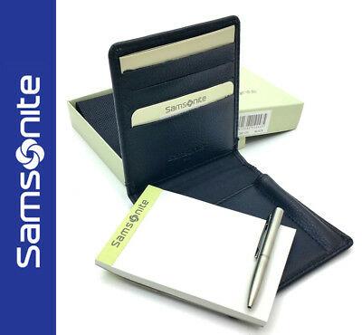 Samsonite Pocket Slim Luxury Leather Credit Card/Cash Wallet - £1.95 + £2.75 delivery @ megga_planet / eBay