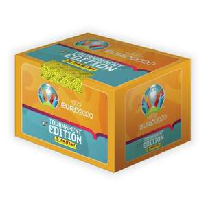 UEFA Euro 2020 Panini Sticker Collection x 100 Pack(500 Stickers) - £50 + free Click and Collect @ Argos