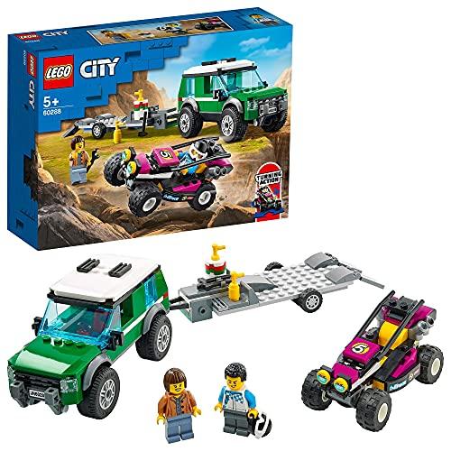 LEGO 60288 City Great Vehicles Race Buggy Transporter - £12 (+£4.49 Non-Prime) @ Amazon