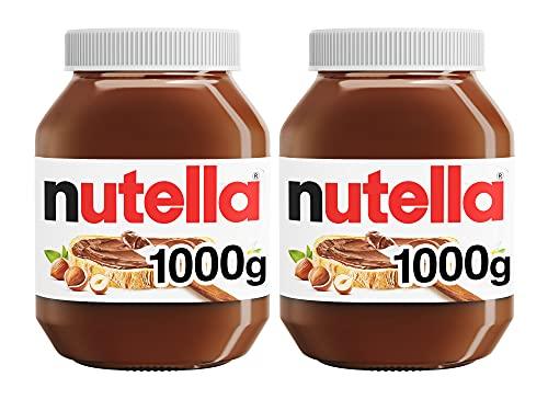 Nutella Hazelnut Chocolate Spread, 1 kg, Pack of 2 - £8.15 (+ £4.49 Non Prime) @ Amazon