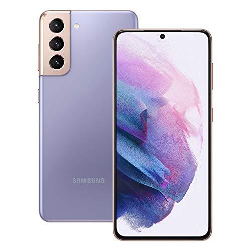 Samsung Galaxy S21 5G Smartphone SIM Free Android Mobile Phone Phantom Violet 128GB £603.56 at Amazon