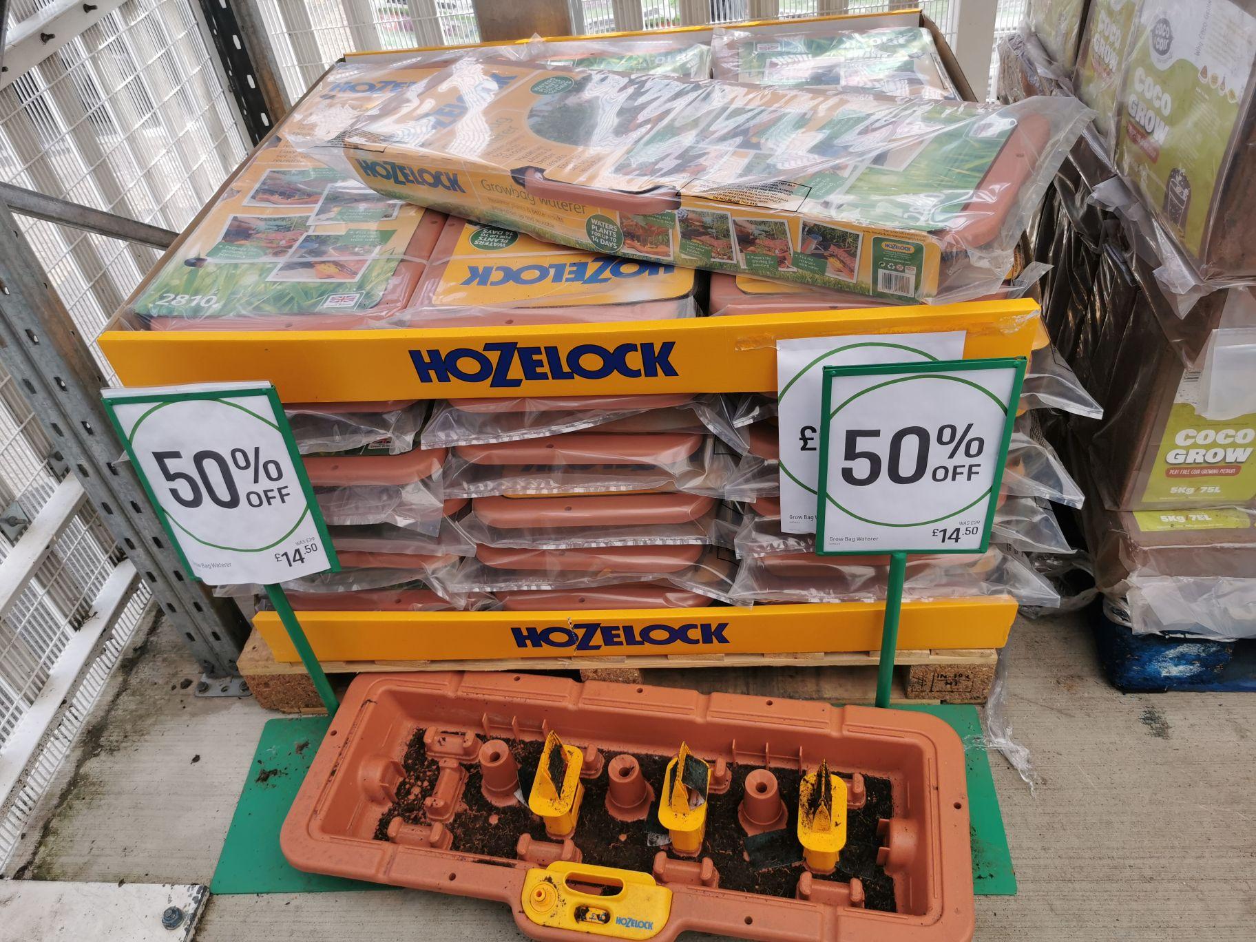 Hozelock growbag waterer £14.50 instore @ Homebase Hatfield